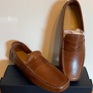 Cole Haan Howland Penny Loafer - Saddle Tan